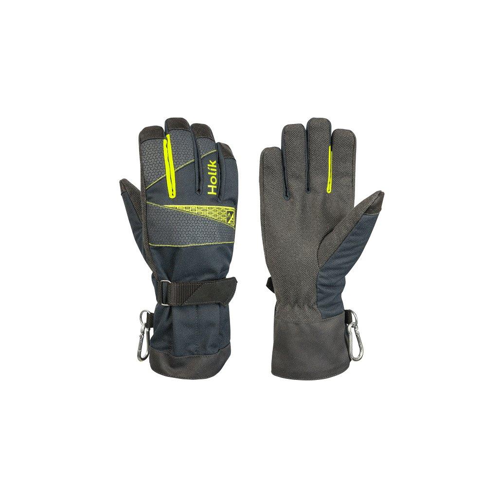 Zásahové ochranné rukavice HOLÍK Karla 8013 pro hasiče