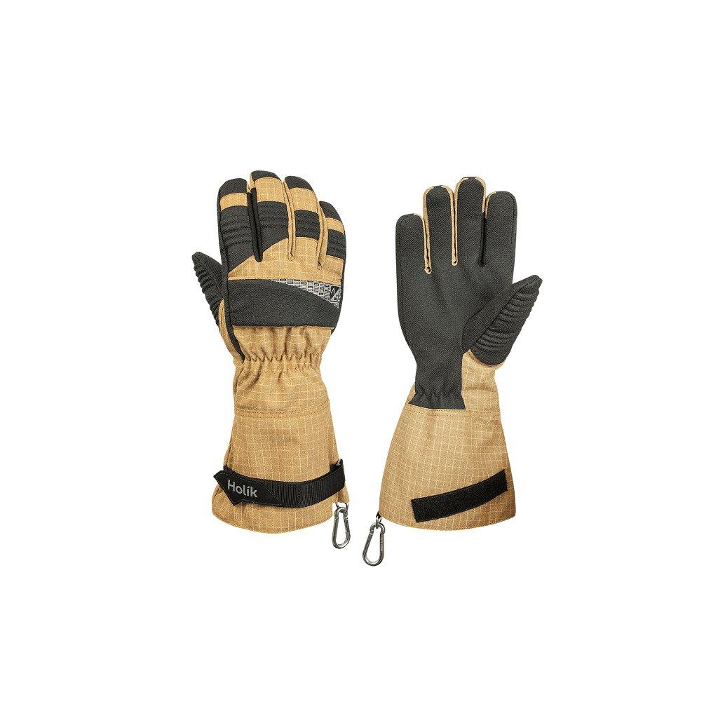 Zásahové ochranné rukavice HOLÍK Chanel 8035 pro hasiče