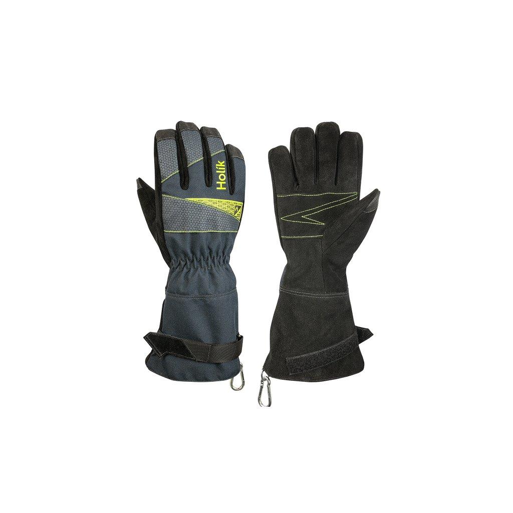Zásahové ochranné rukavice HOLÍK Sydney 8025 pro hasiče