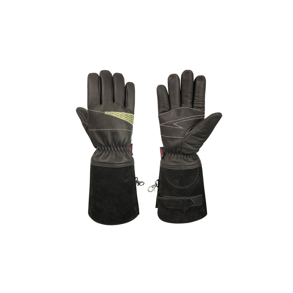 Zásahové ochranné rukavice HOLÍK Dakota 8006 pro hasiče