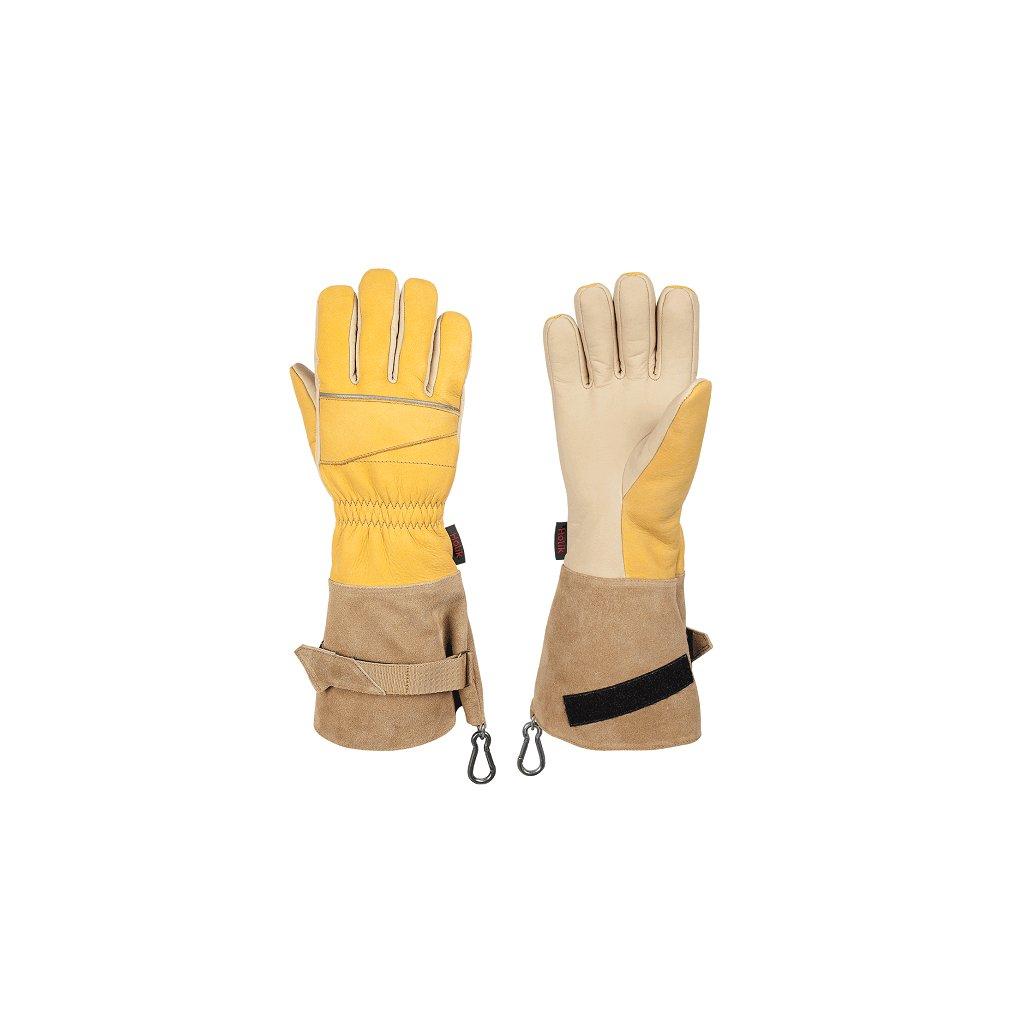 Zásahové ochranné rukavice HOLÍK Elda 8074 pro hasiče