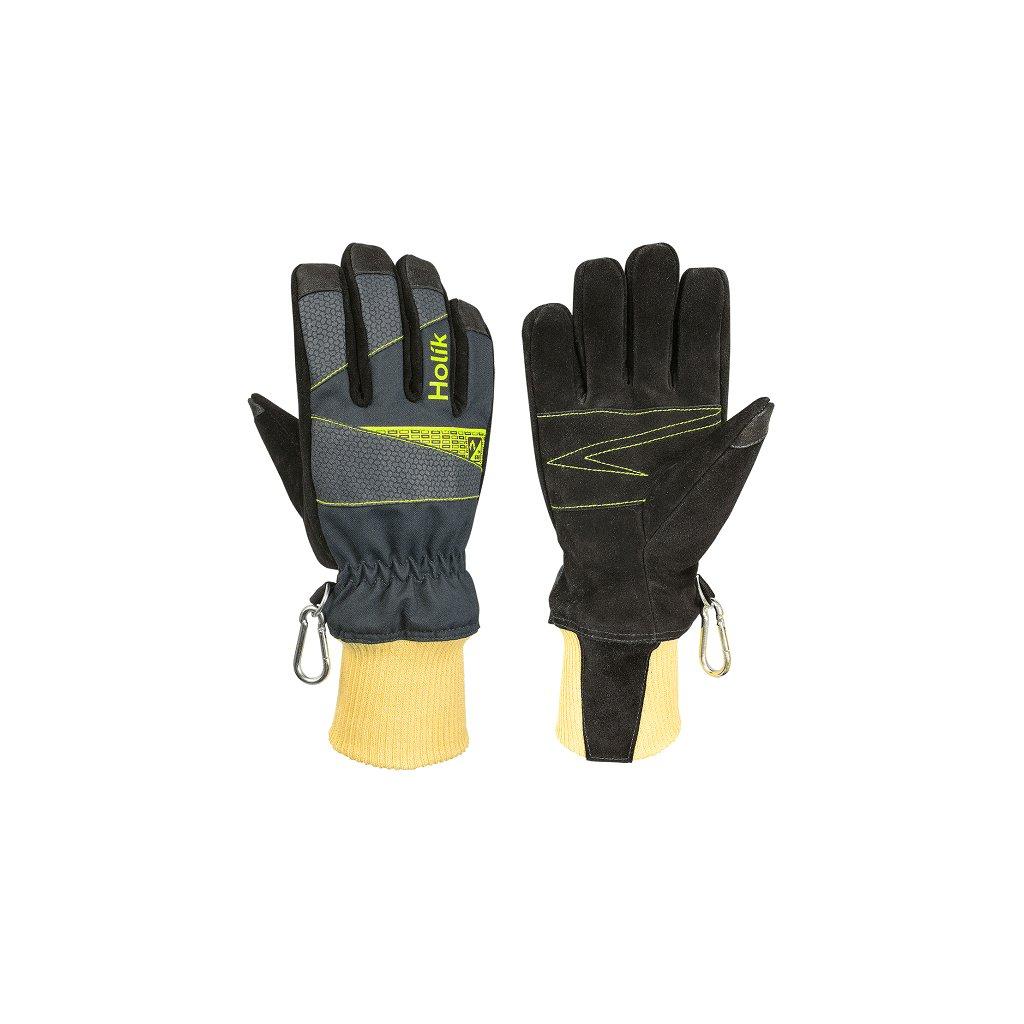 Zásahové ochranné rukavice HOLÍK Caroline 8004 pro hasiče