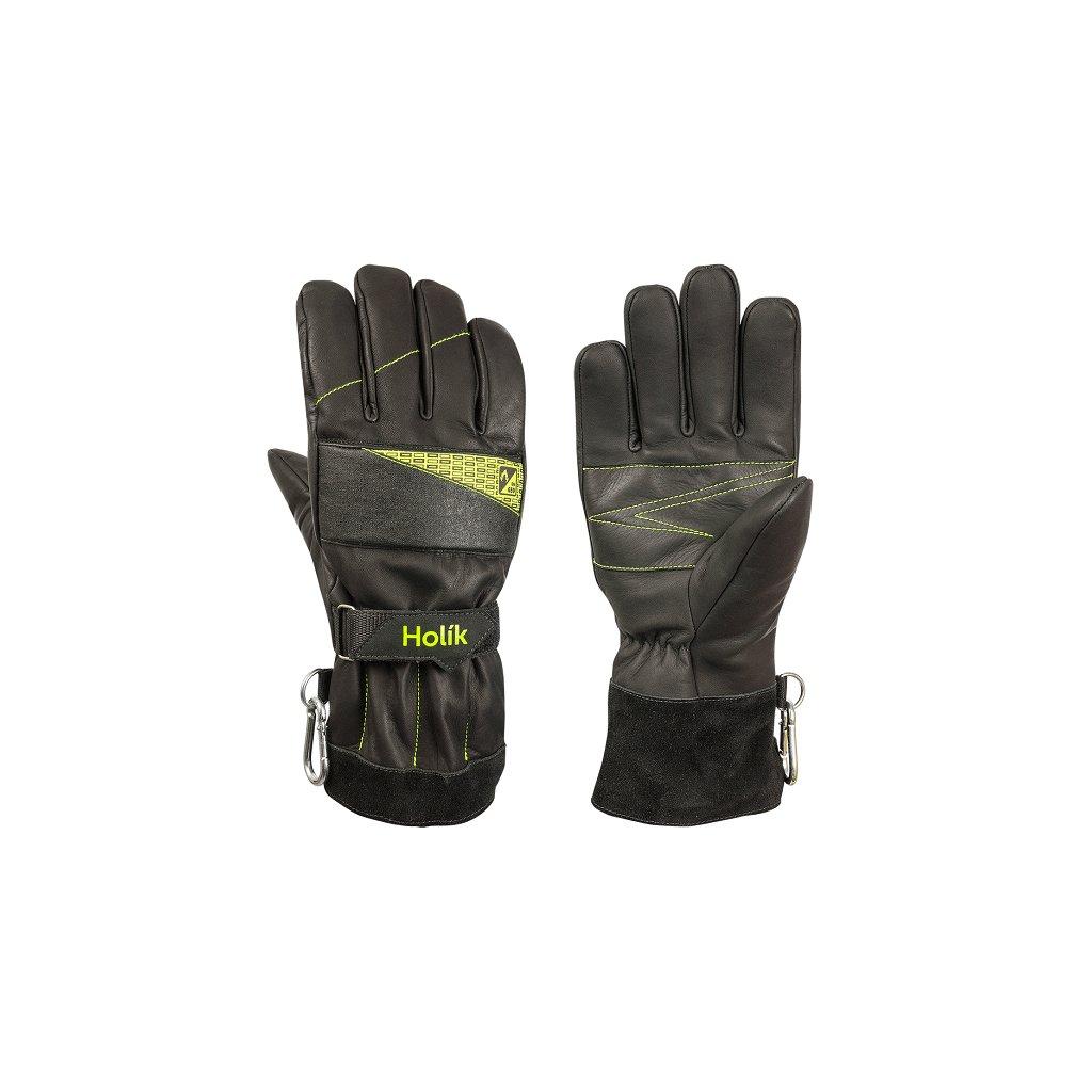 Zásahové ochranné rukavice HOLÍK Taya 8039 pro hasiče