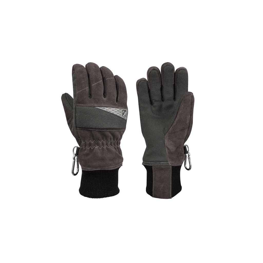 Zásahové ochranné rukavice HOLÍK Jolie Grey 8054 pro hasiče