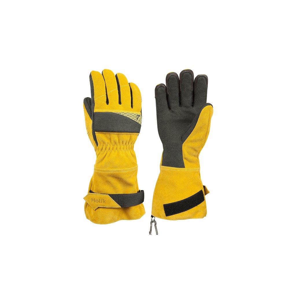 Zásahové ochranné rukavice HOLÍK Regina 8055 pro hasiče