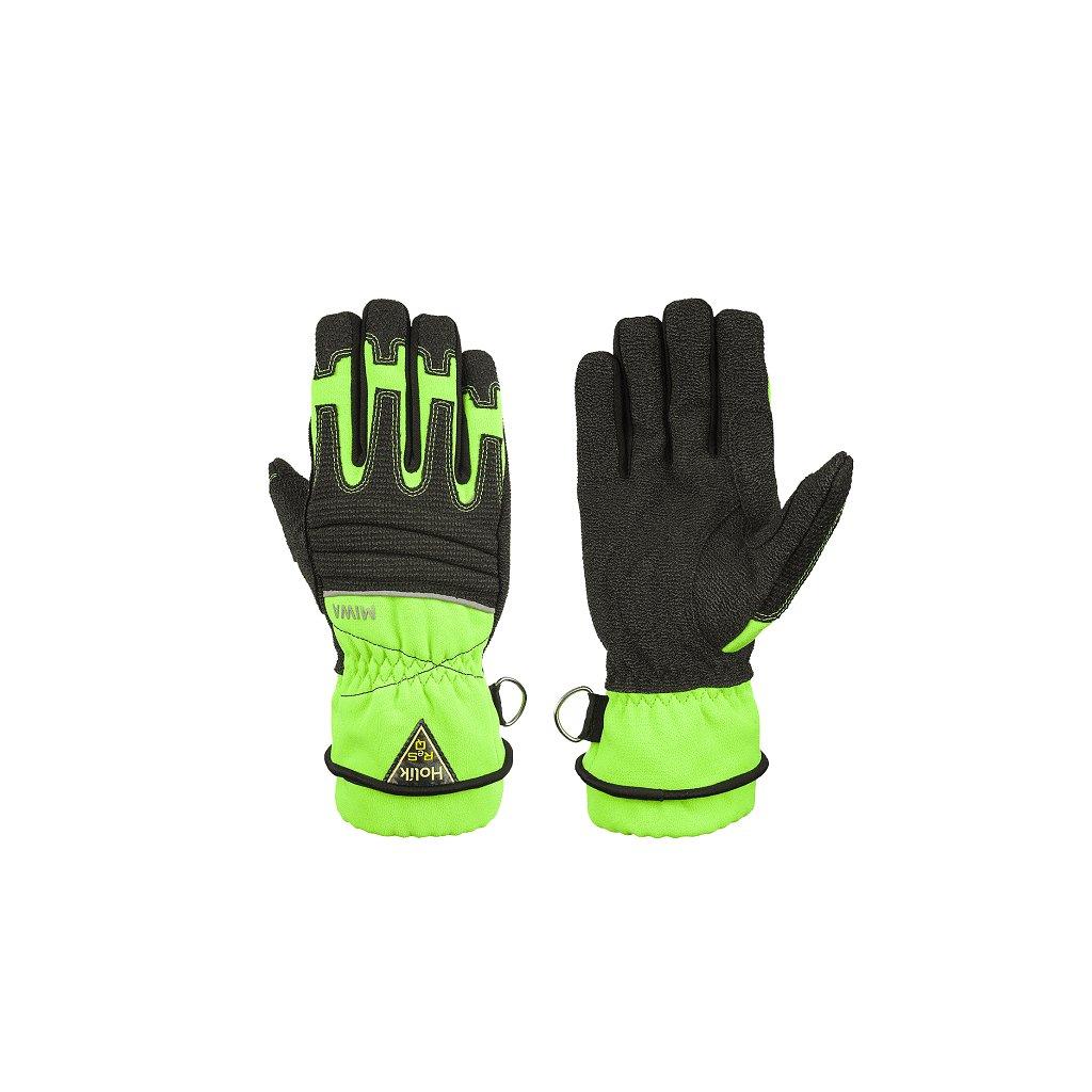 Technické ochranné rukavice HOLÍK Miwa 6507 RESCUE pro záchranáře