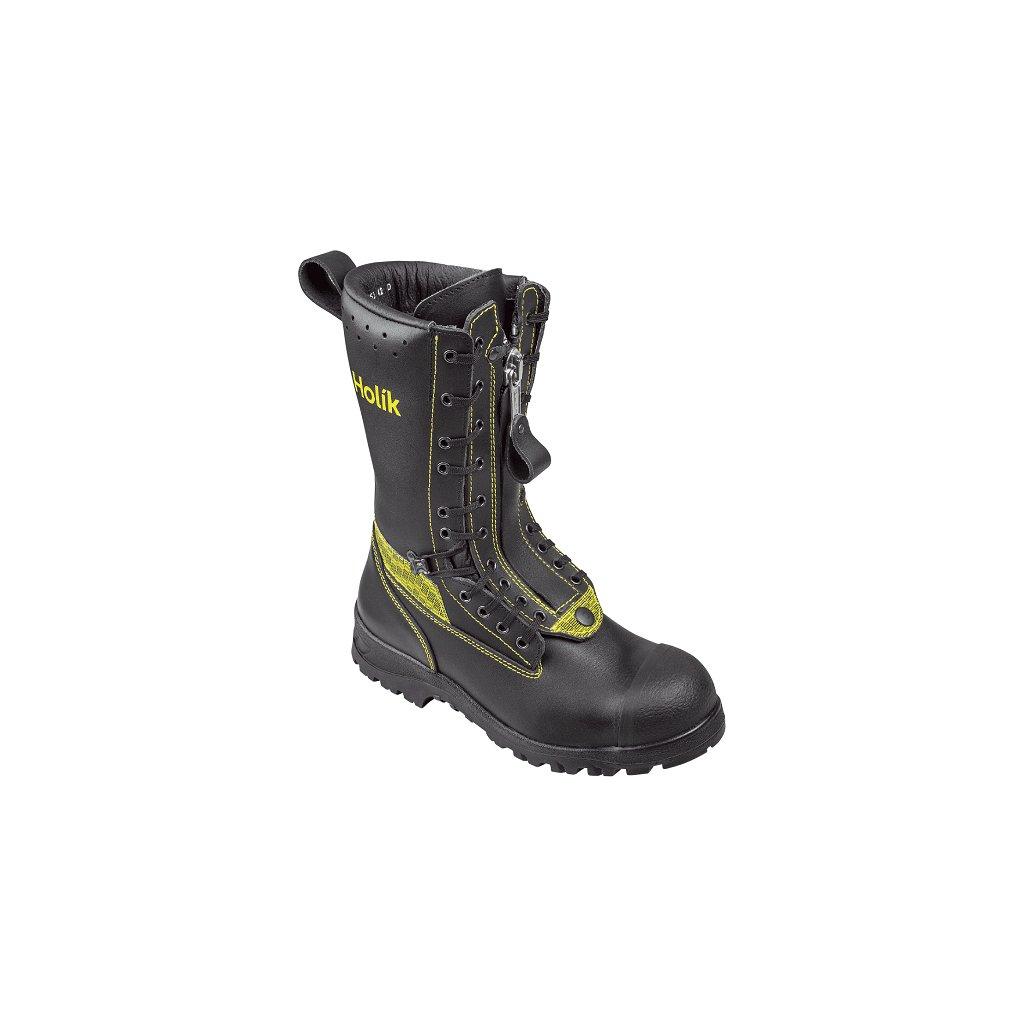 Zásahová ochranná obuv HOLÍK Lukov 7108 pro hasiče