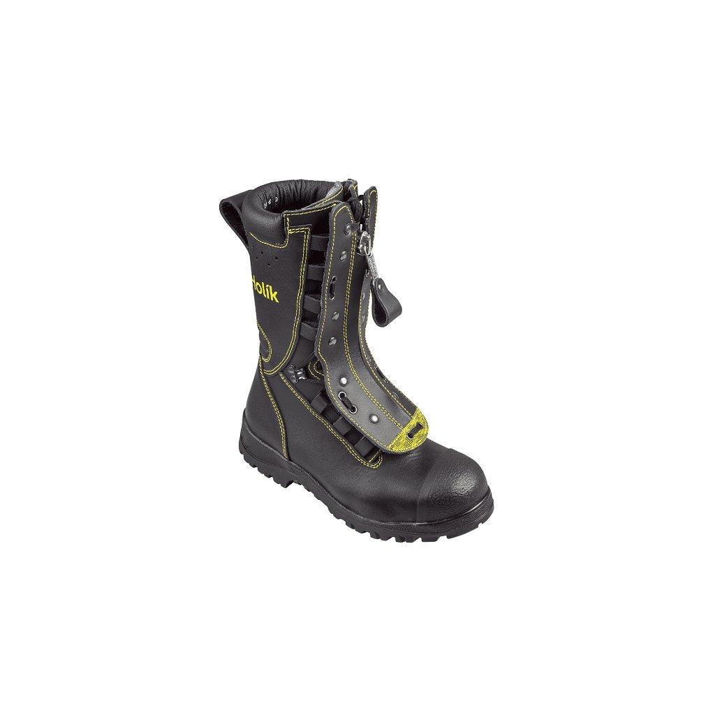 Zásahová ochranná obuv HOLÍK Hostyn basic 7106 pro hasiče