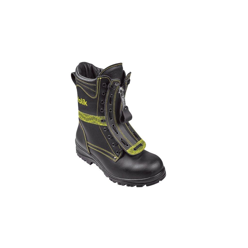 Zásahová ochranná obuv pro hasiče Holík, Rusava basic 7112