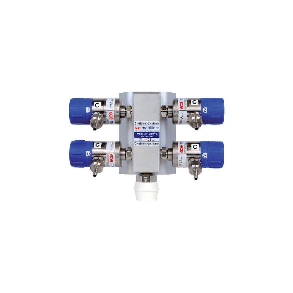 Zdravotnický průtokoměr Medeline, MEDIFLOW ULTRA II 2 L