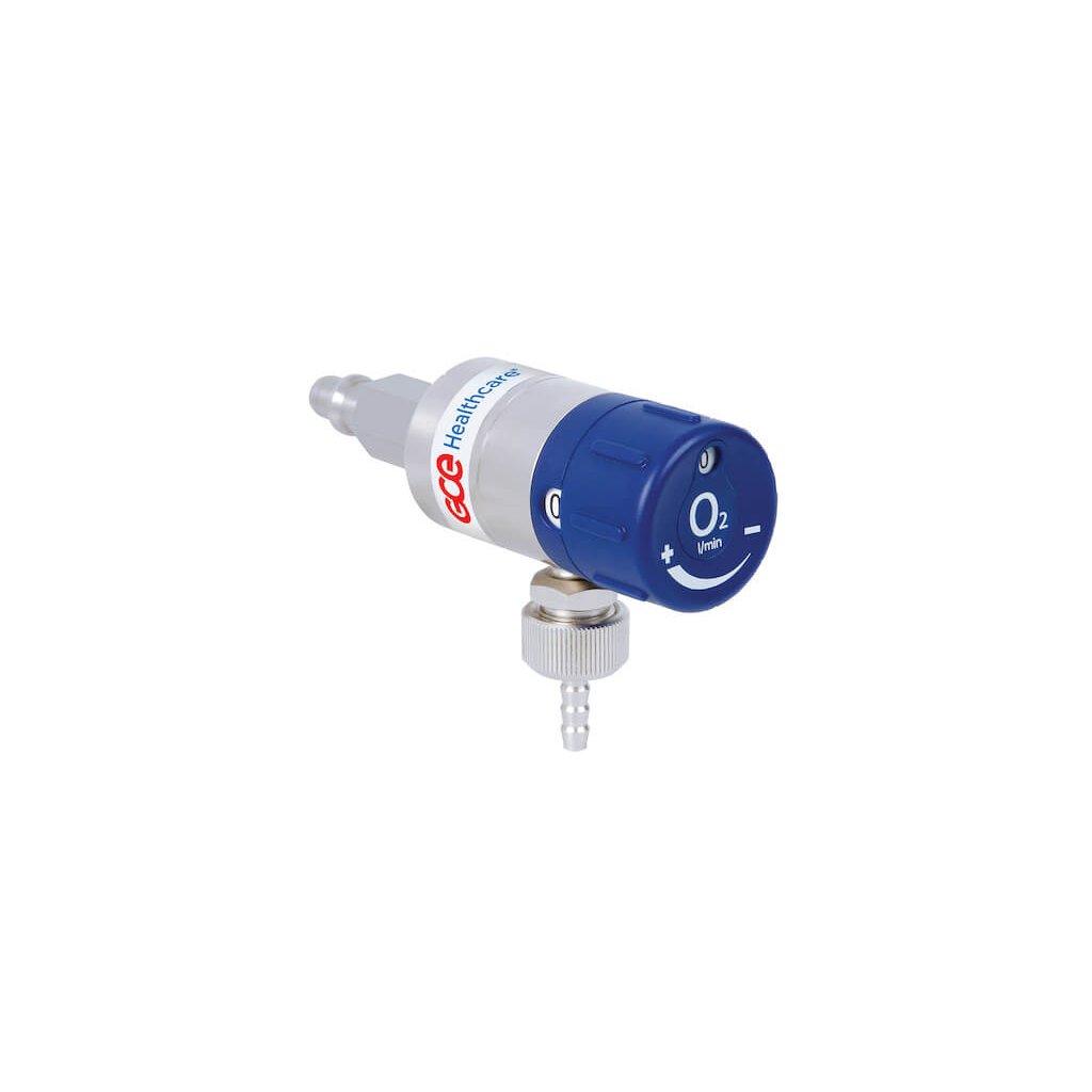 """Zdravotnický průtokoměr GCE MEDIFLOW ULTRA II 6 l/min (G 3/8"""")"""