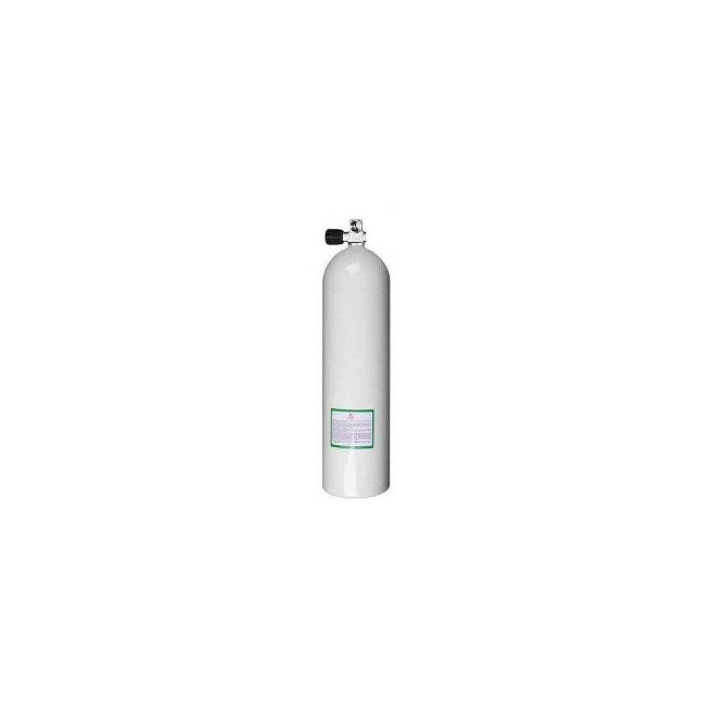 Tlaková lahev Luxfer, medical O2 hliník 7000, objem 2L, hmotnost 1,85kg, závit 25E