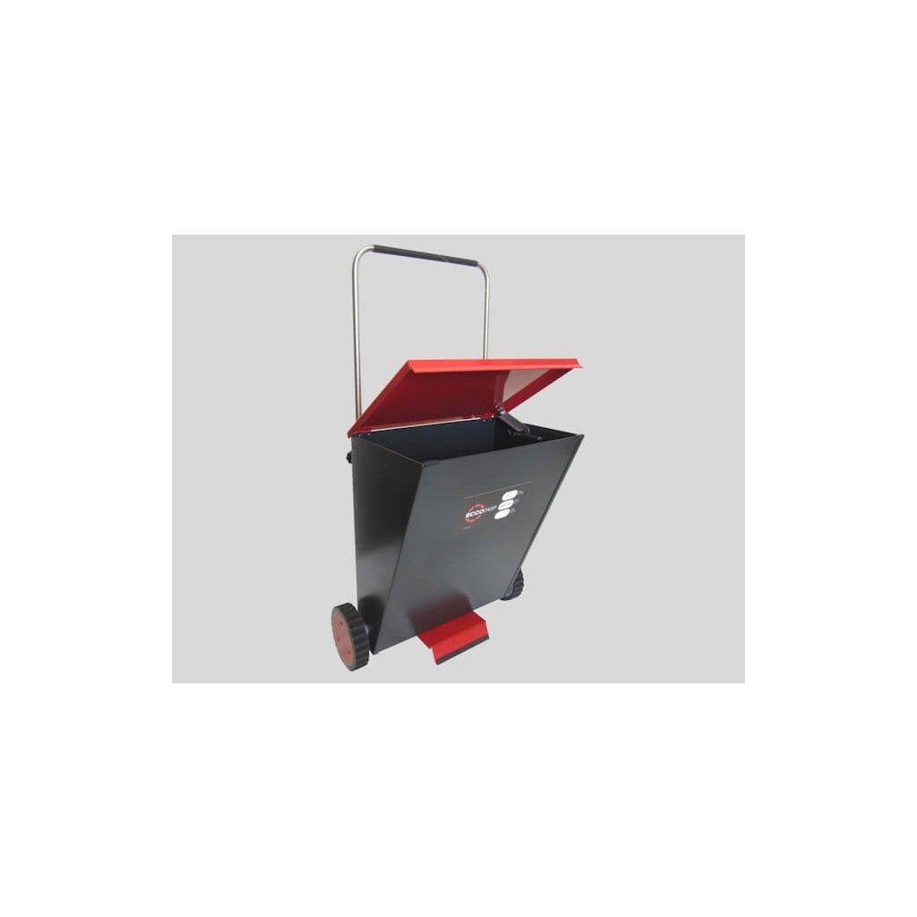 Posypový vozík kovový Eccotarp, SDC 05 2