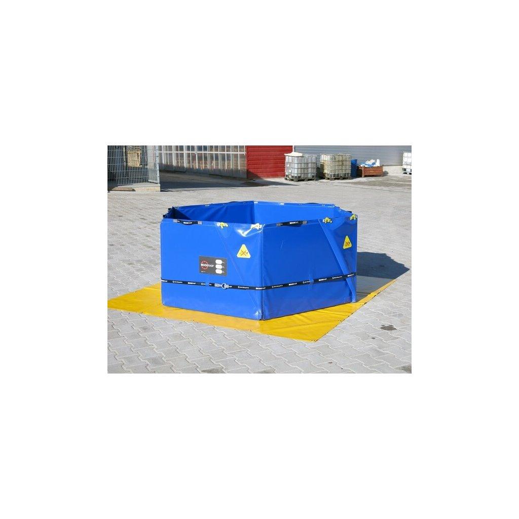 Nádrž skládací samonosná Eccotarp, ET HX 2000L šestiúhelníková