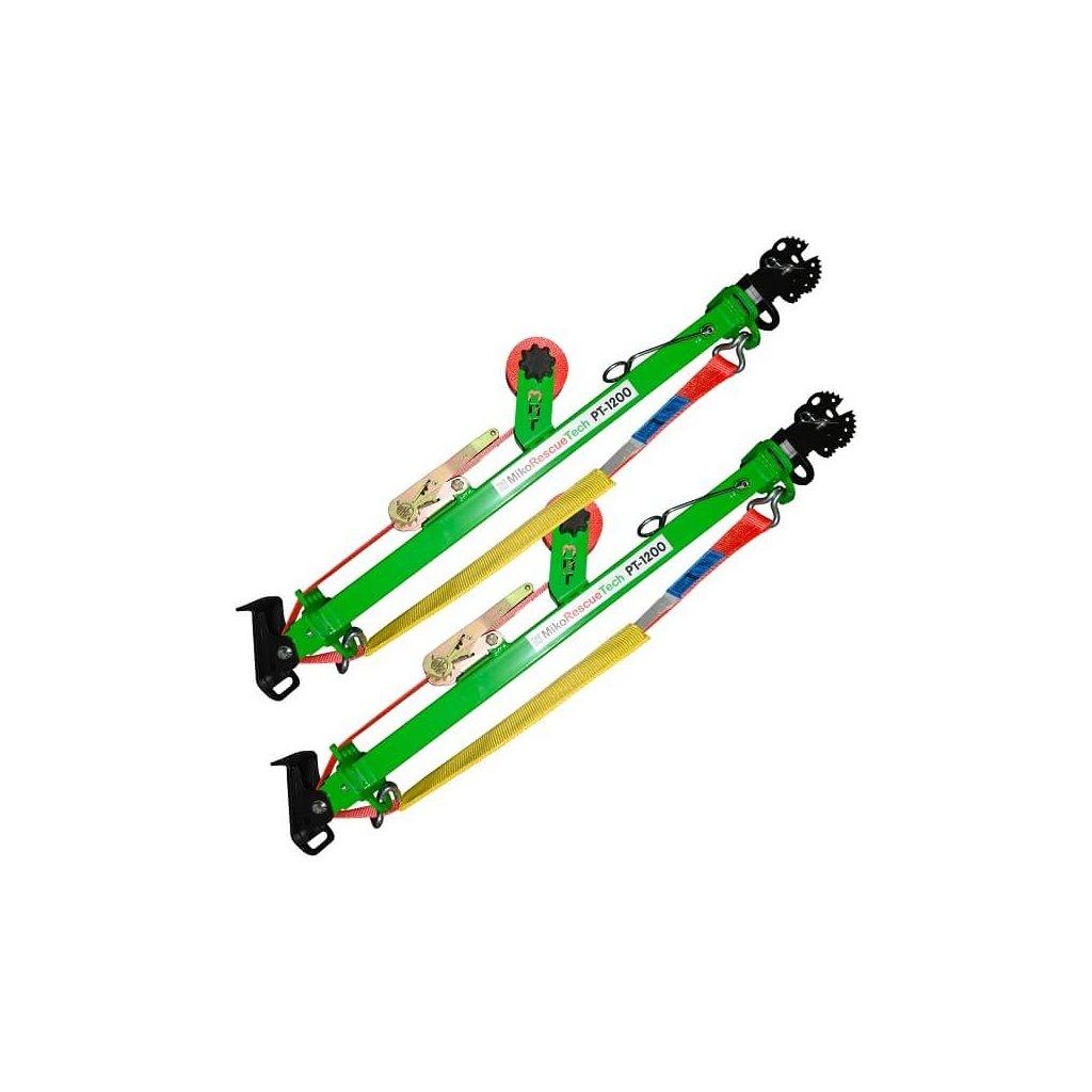 Stabilizační tyč MIKO Tech Rescue, PT 1200z - sada (2 díly)