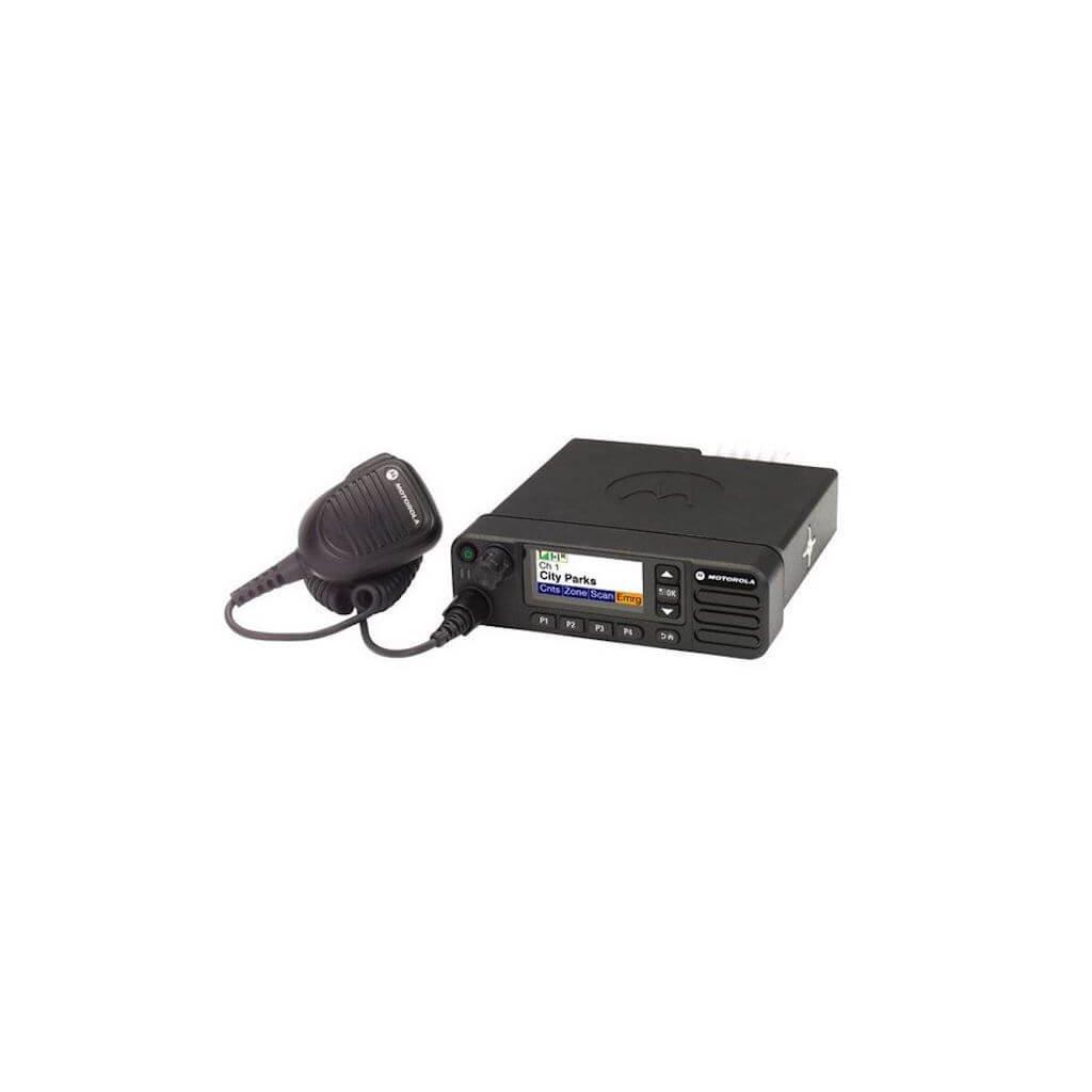 Vozidlová (vysílačka) MOTOROLA Mototrbo DM4601e GPS a Bluetooth (DIGITAL)