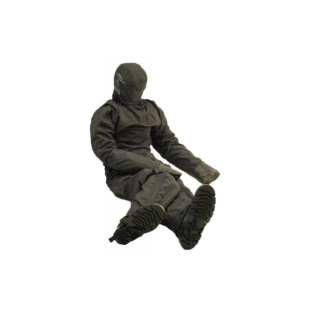 Cvičná figurína RUTH LEE ohnivzdorná, model dodáván včetně nomexového overalu a masky