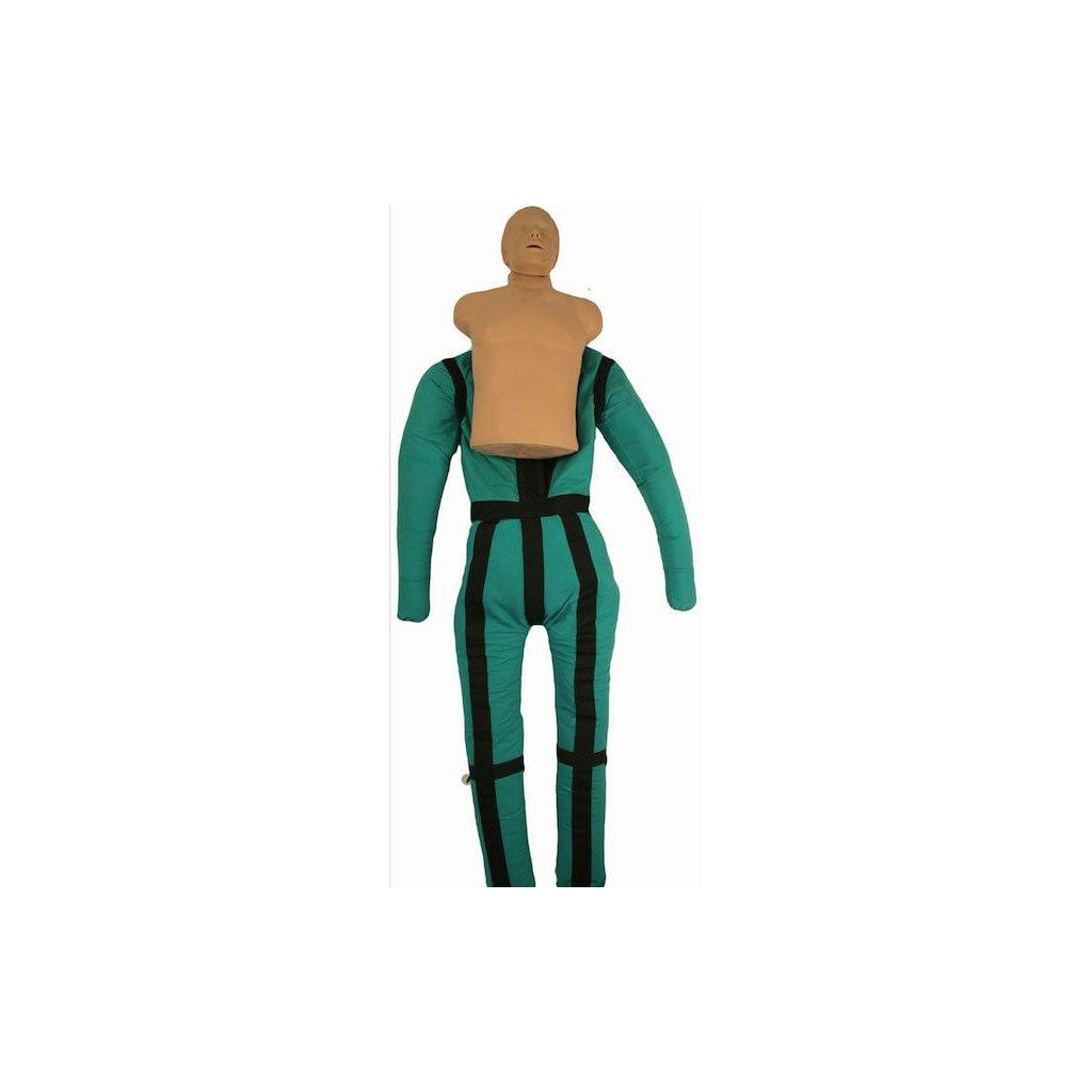 Cvičná figurína Ruth Lee s resuscitací obsahuje tašku na přenášení