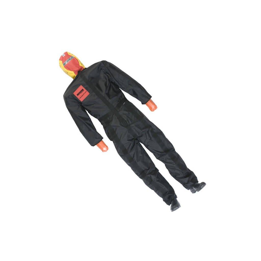 Cvičná figurína Ruth Lee pro vodní záchrannou službu netopí se černý overal