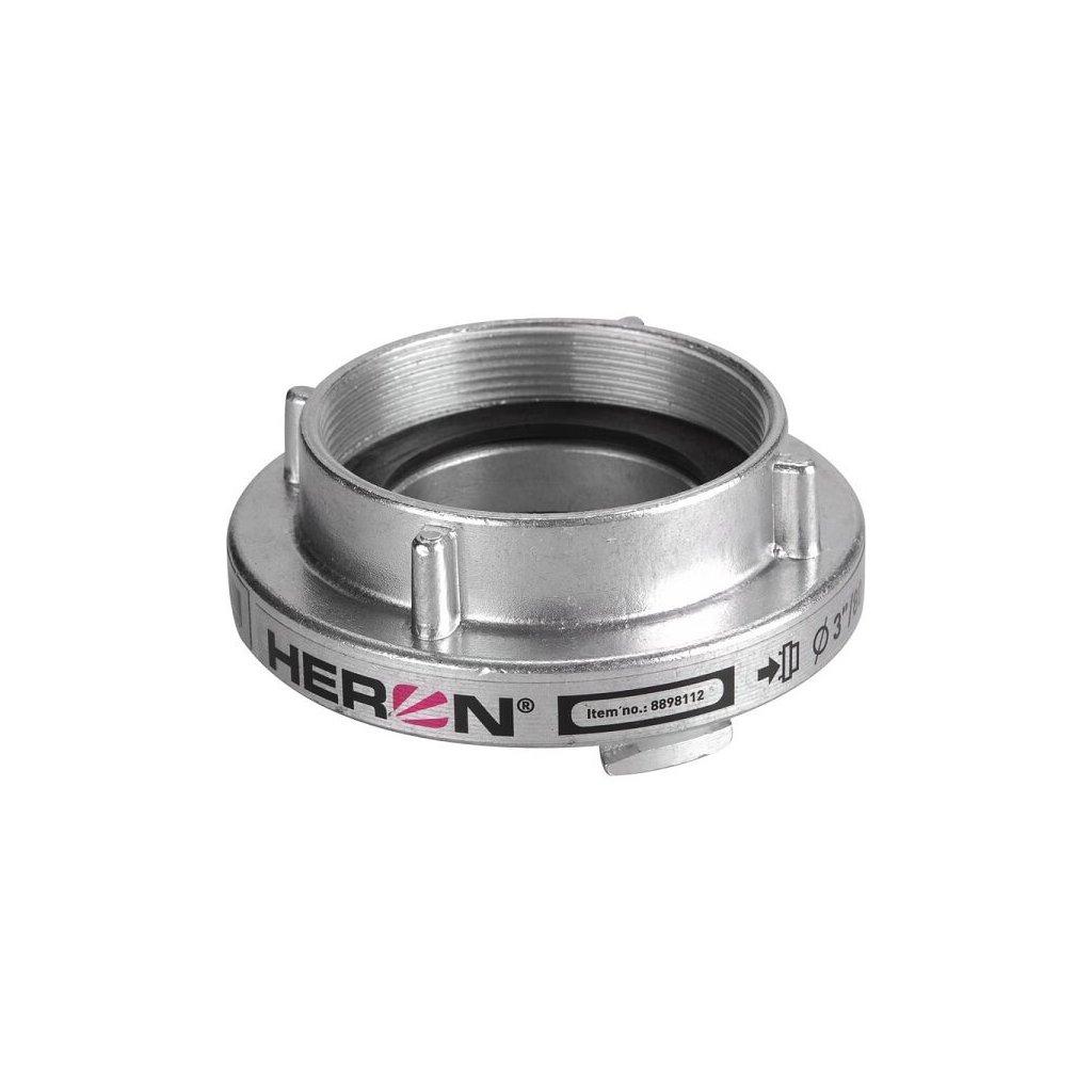 Pevná spojka HERON B75 se vnitřním závitem G tlakové/sací s těsněním