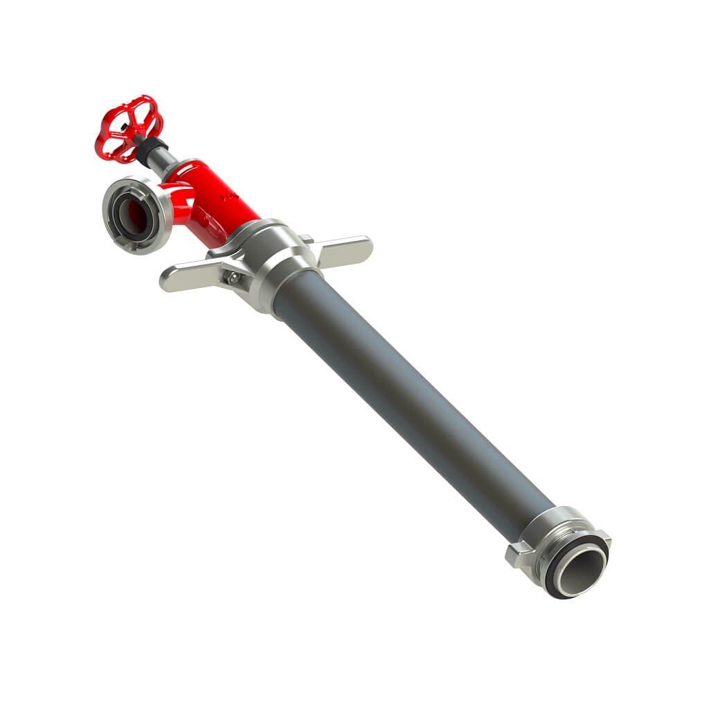 Hydrantový nástavec vřetenový POK DN80 (1xC52)