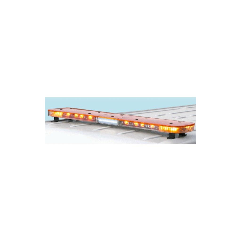 Majáková rampa Federal Signal Vama, AURUM,LED, délka1346 mm, barva oranžová 2