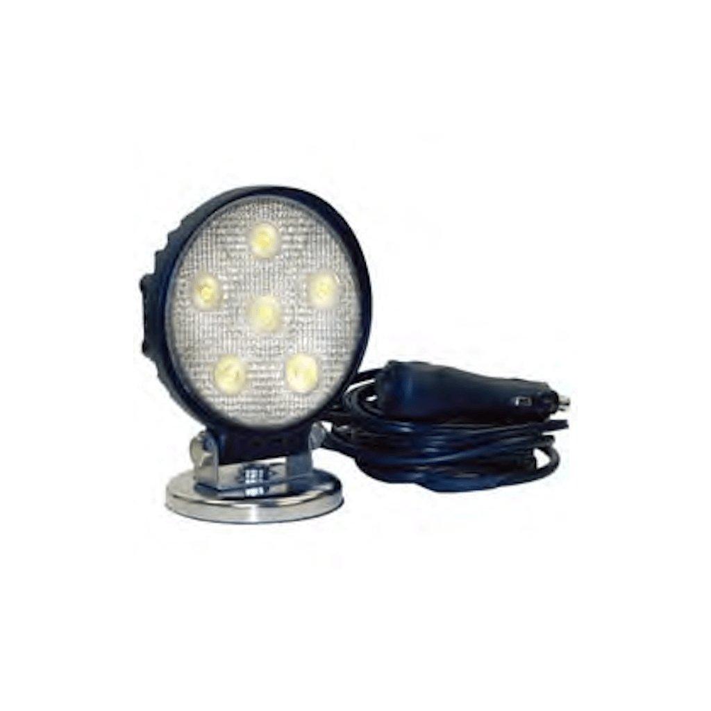 Pracovní světlo LED LED Federal Signal Vama, čirá optická čočka, magnetické 2