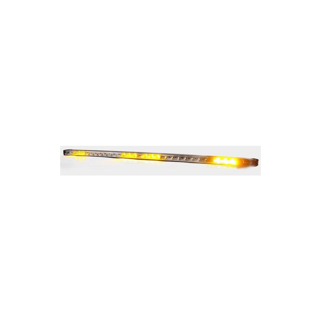 Oranžová alej FEDERAL SIGNAL VAMA, šestimodulová 12 24V