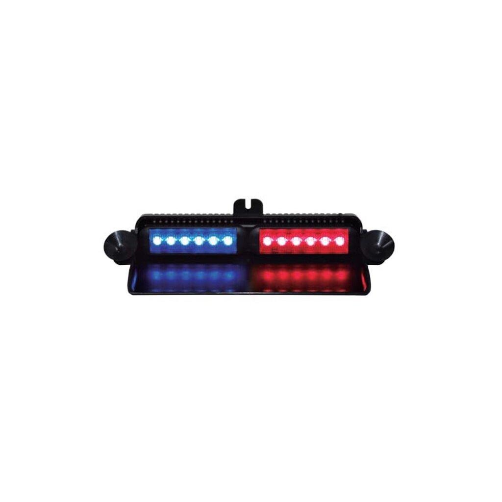 Maják interiérový FEDERAL SIGNAL VAMA, NANOLED VIPER S2, barva modrá červená