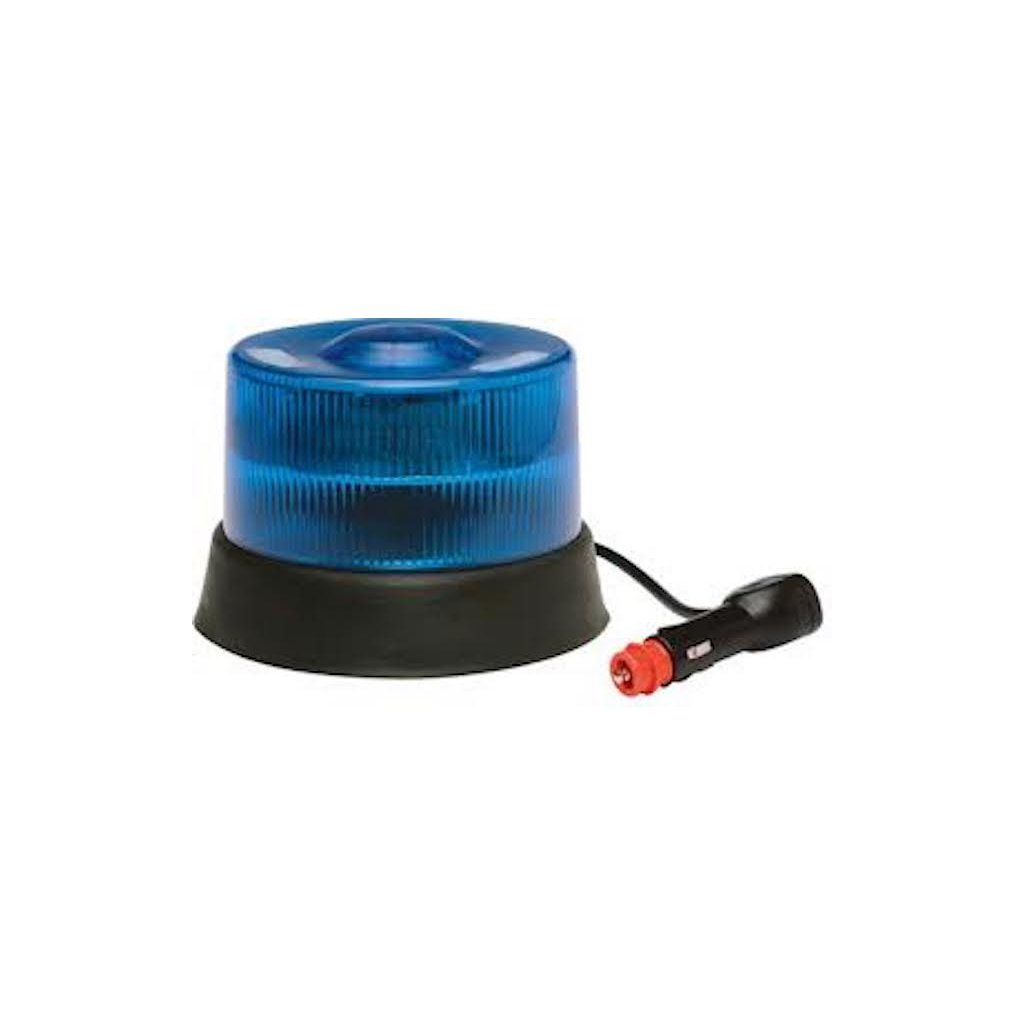 Maják magnetický FEDERAL SIGNAL VAMA, LM800, 1x15 LED, barva modrá