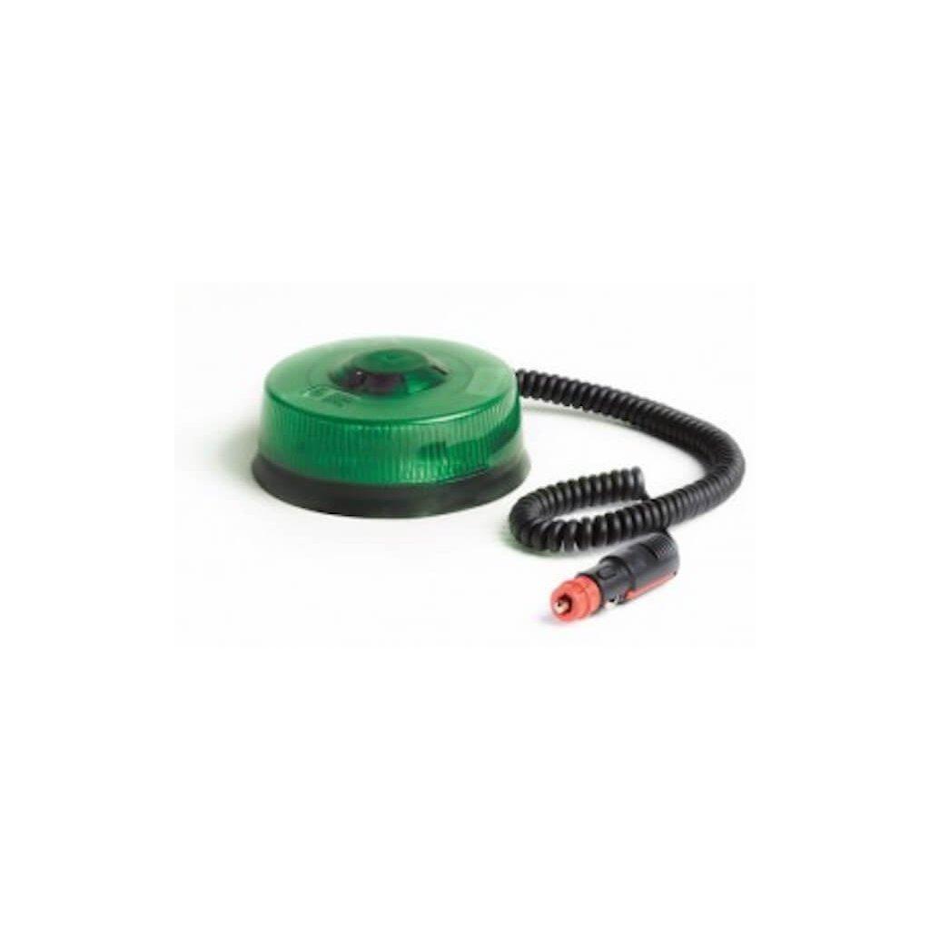 Maják magnetický FEDERAL SIGNAL VAMA LM400 1x15 LED (zelená)