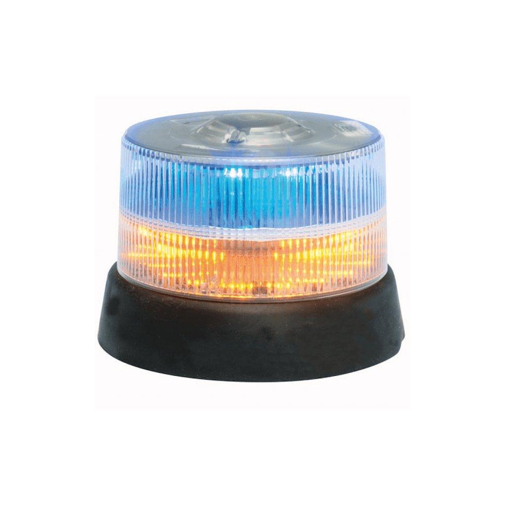 Maják pevná montáž Federal Signal Vama, LP800, 2x15 LED, barva oranžová modrá
