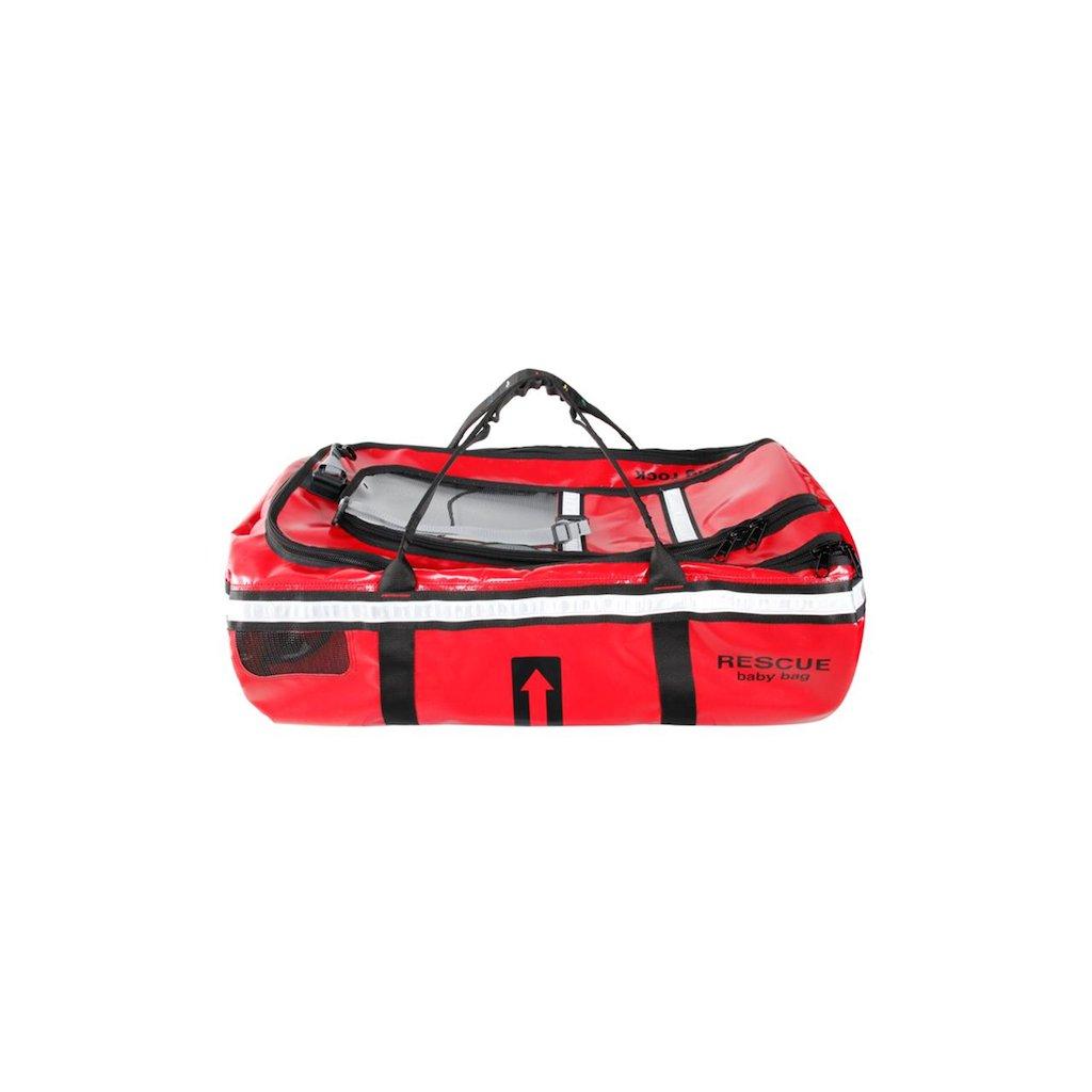 Vak určený pro transport dětí při záchraně Singing Rock, BABY RESCUE BAG
