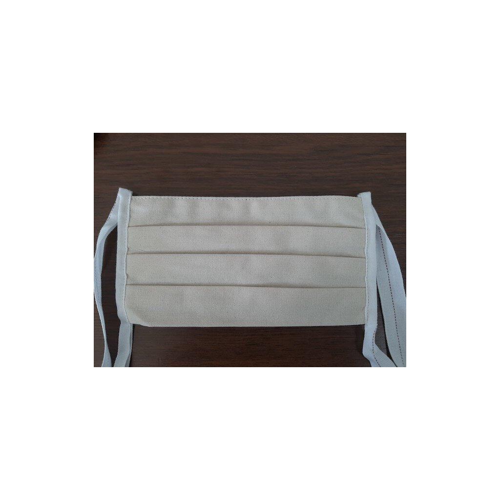 Bavlněná ochranná rouška zavazovací, 2 vrstvá, bavlna 100 %,01