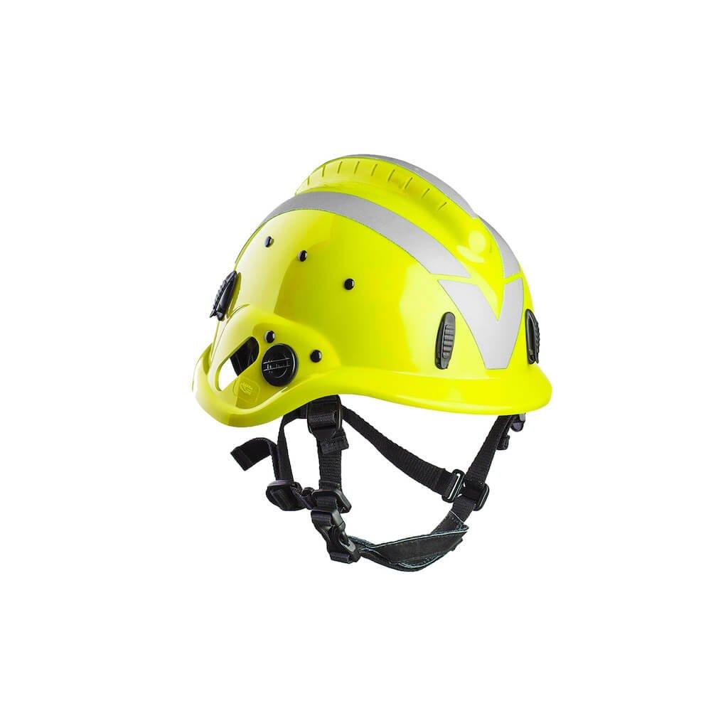 Hasičská zásahová přilba VALLFIREST pro lesní požáry, VF1, fluorescenční žlutá