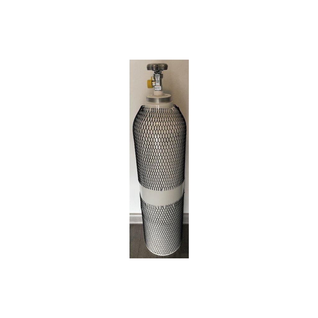 Tlaková medicinální lahev hliniková pro kyslík Luxfer - L6X, 10 L/200 bar, závit 25E