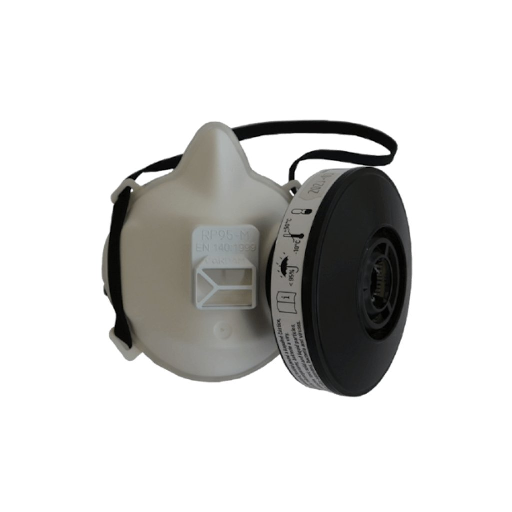 Polomaska ochranná RP95-M včetně filtru P3R