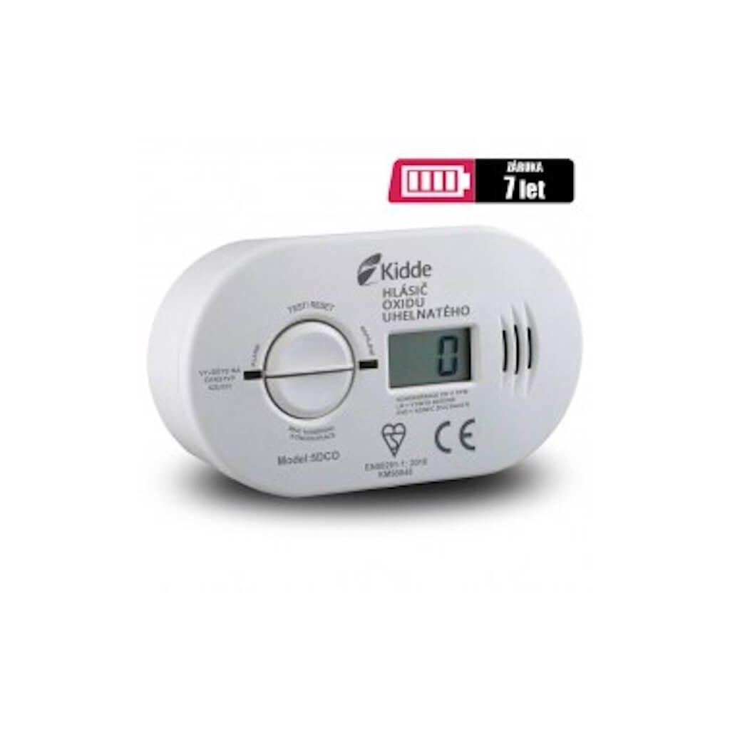Detektor úniku plynu CO Kidde, 5DCO (měřící zařízení) 2