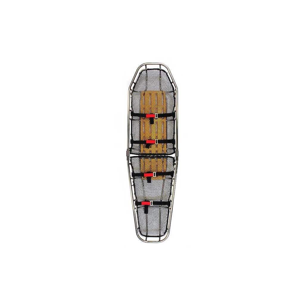 Košová nosítka dvoudílná FERNO, nerezová ocel/titan, vhodná pod vrtulník, tvar - kuželový