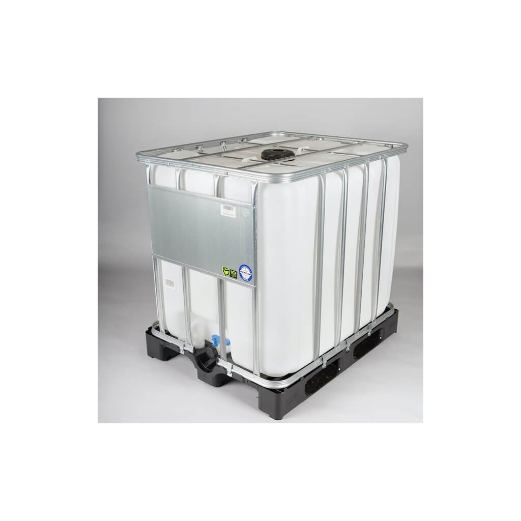 IBC kontejner 1000L FDA (paleta plast) NOVÝ