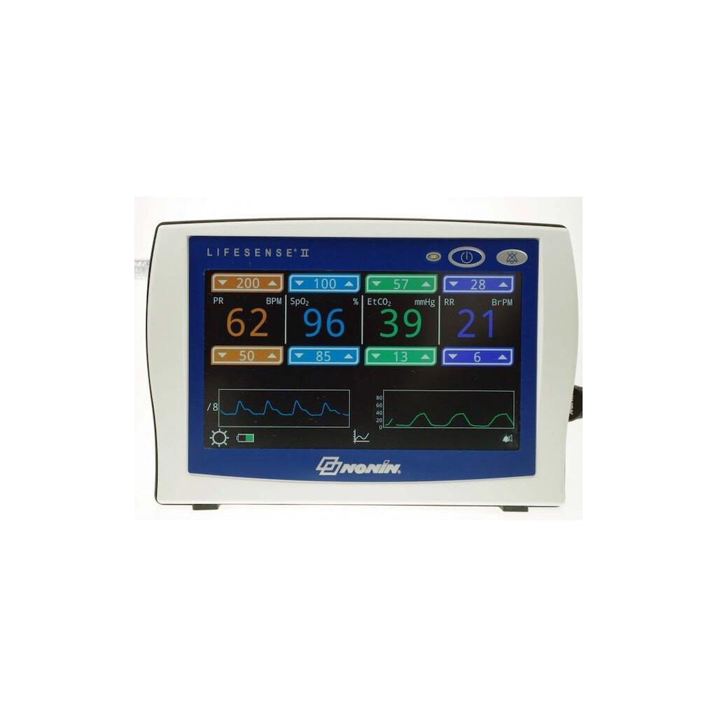 Kapnometr a pulsní oxymetr NONIN, LifeSense II