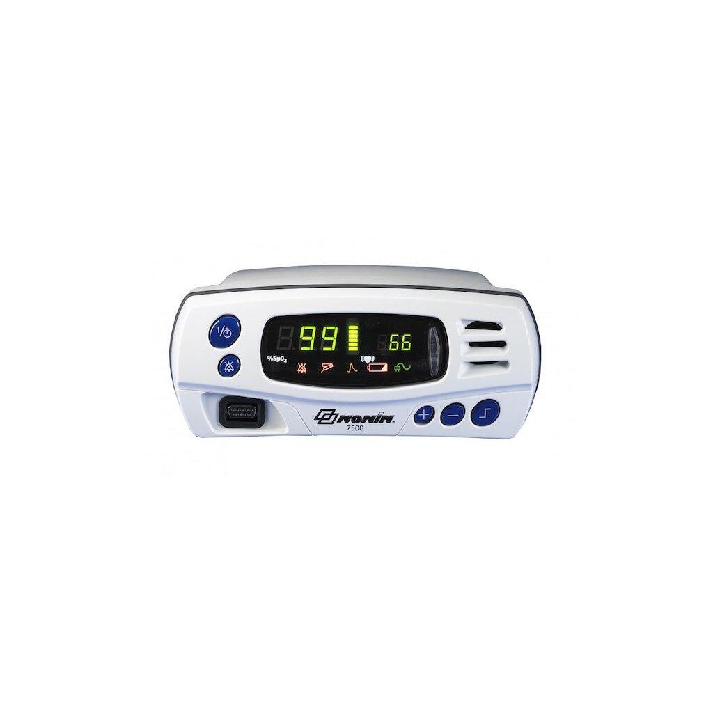 Pulsní oxymetr stolní Nonin, 7500 s alarmy včetně pevného senzoru