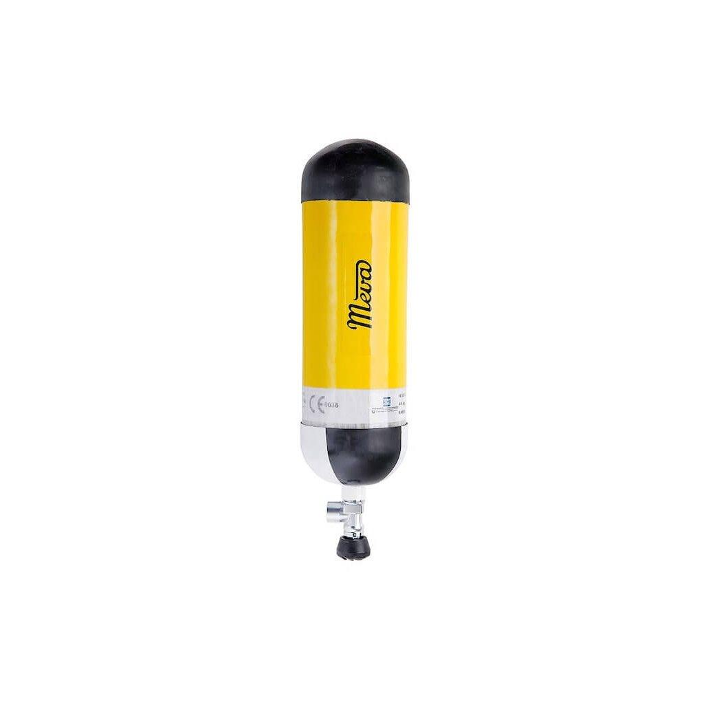 Tlaková kompozitní lahev MEVA s neomezenou životností (objem 6,8L/300 bar) VTI EFV