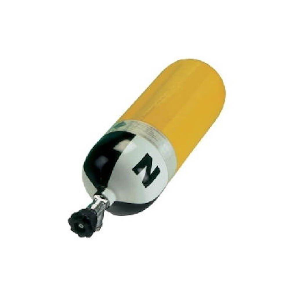 Tlaková kompozitní lahev LUXFER L87B ventil VTI EFV 9L/300 bar