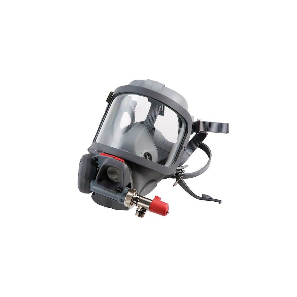 Maska s plicní automatikou MEVA Spiromatic S NR (náhlavní kříž) by-pass