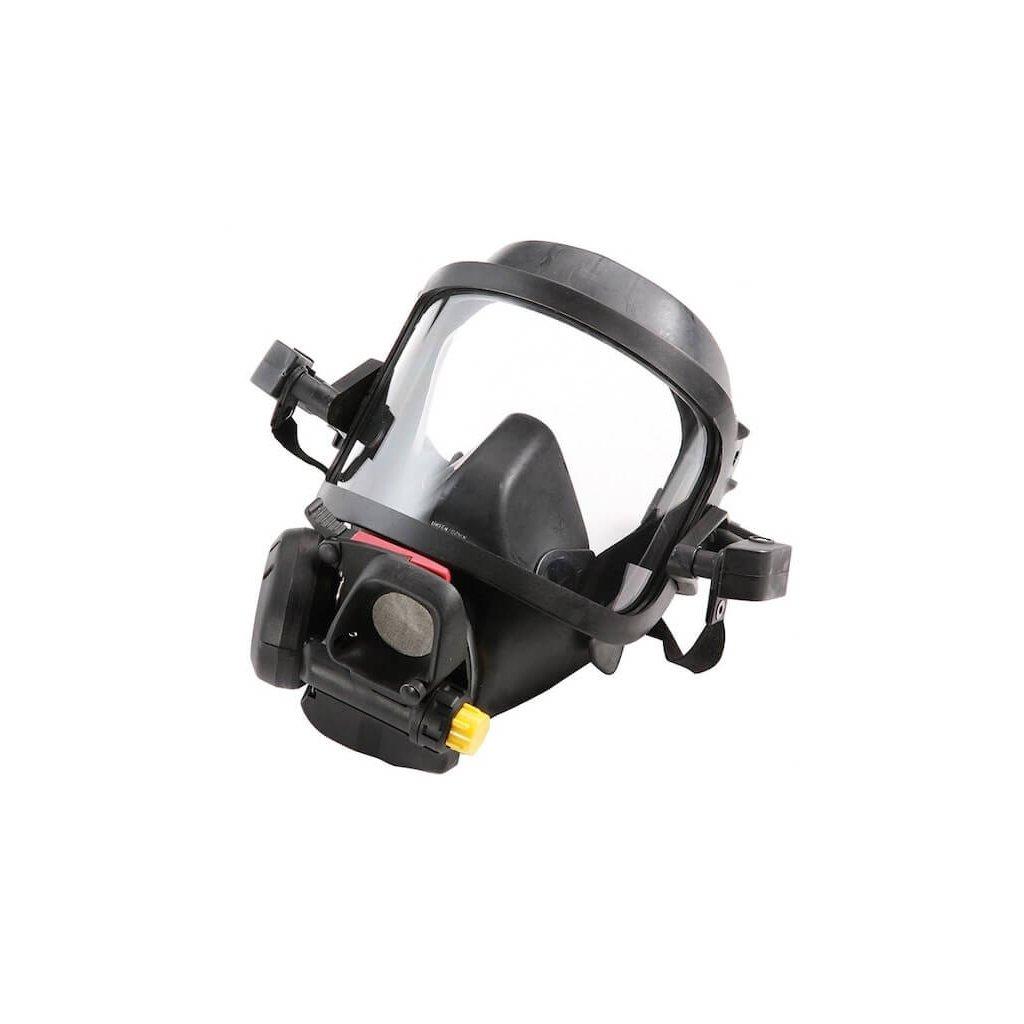Maska s plicní automatikou Meva, Spiromatic S NR, adaptér Gallet, by-pass