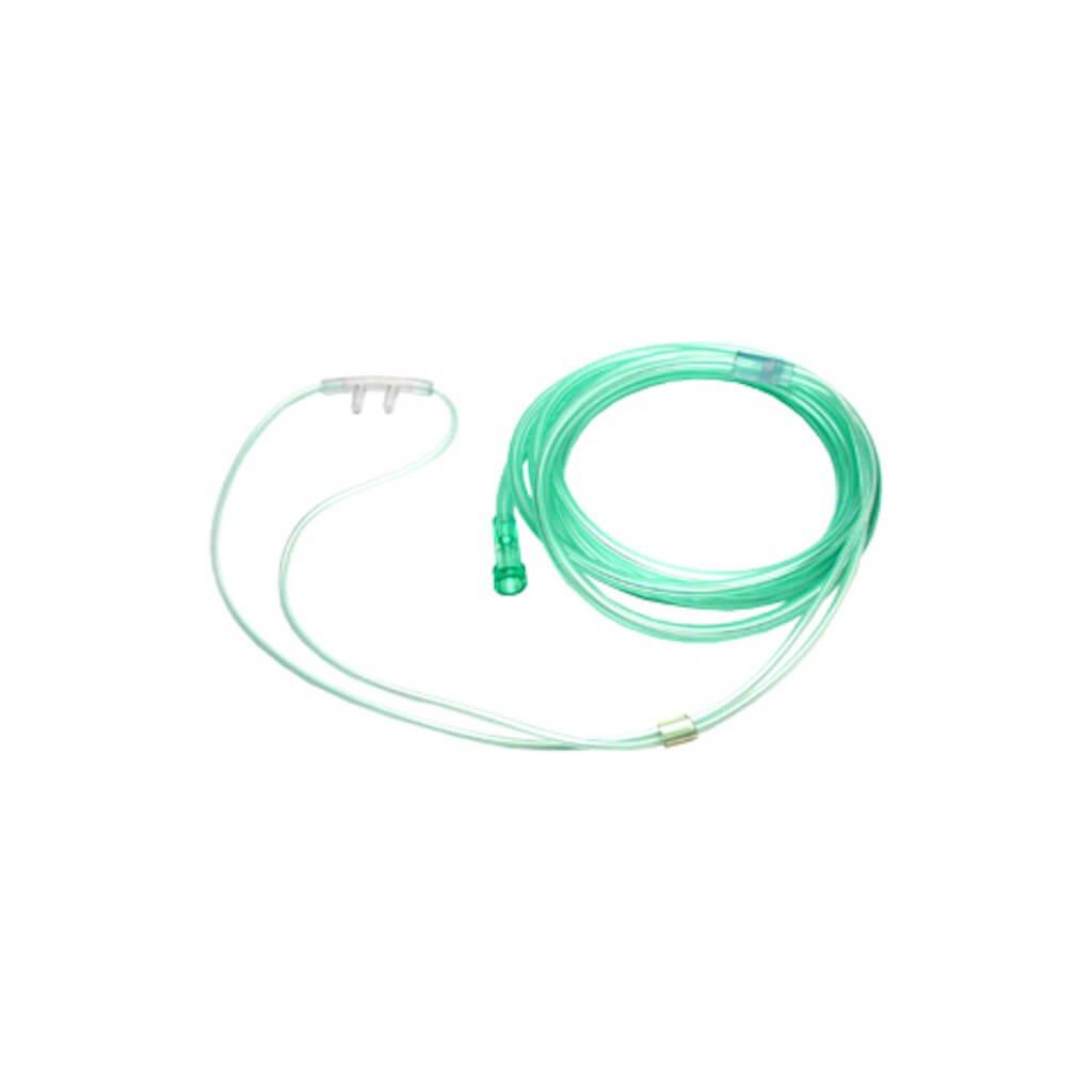 Kyslíkové brýle pro novorozence zelené, nesterilní, 210 cm
