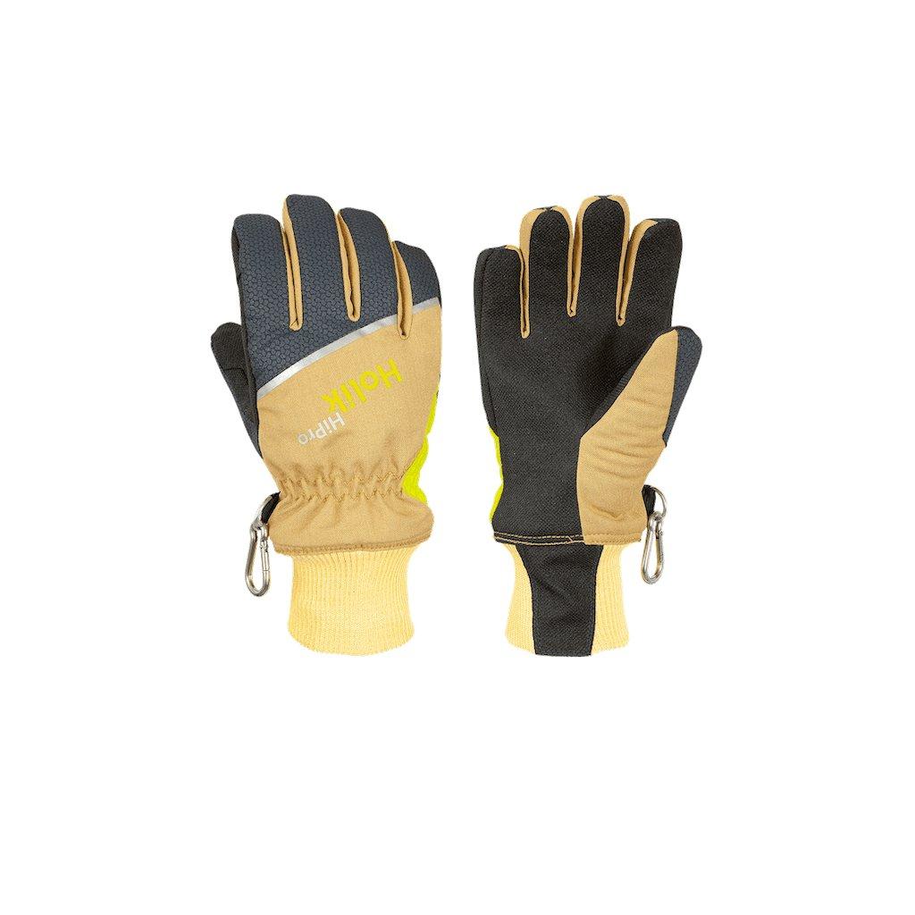Zásahové ochranné rukavice pro hasiče Holík, Maris Short Beige 8085-21