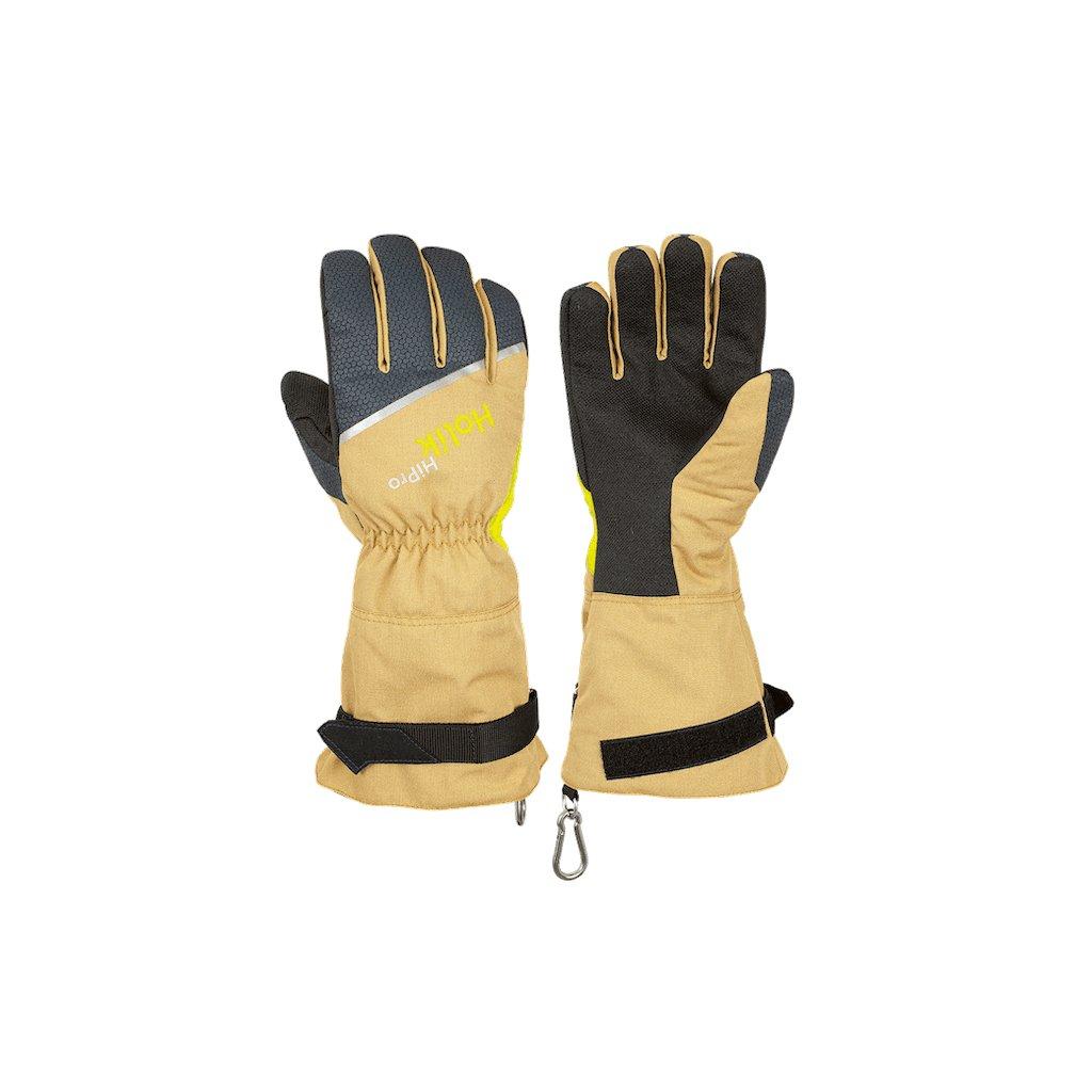 Zásahové ochranné rukavice pro hasiče Holík, Maris Long Beige 8085-31