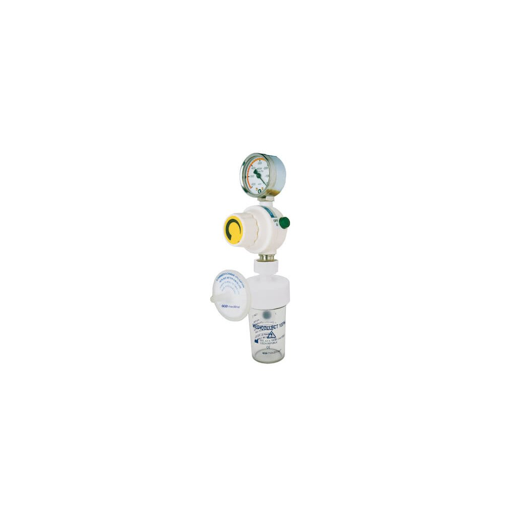Podtlakový regulátor GCE MEDIEVAC+ 1000 (sada s bezpečnostní lahví a filtrem)